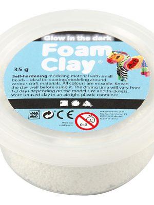 Glow-in-the-dark Foam Clay