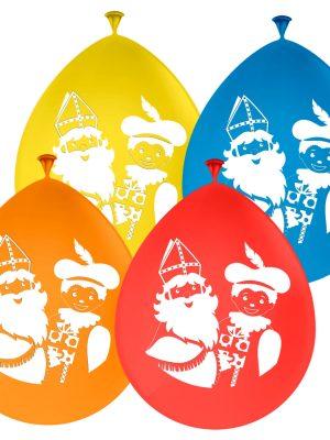 Sinterklaas Ballonnen 8 stks