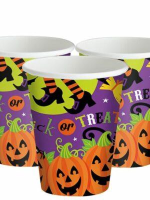 Halloween Bekers 8 stks