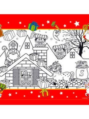 Sinterklaas kleurplaten 8 stks