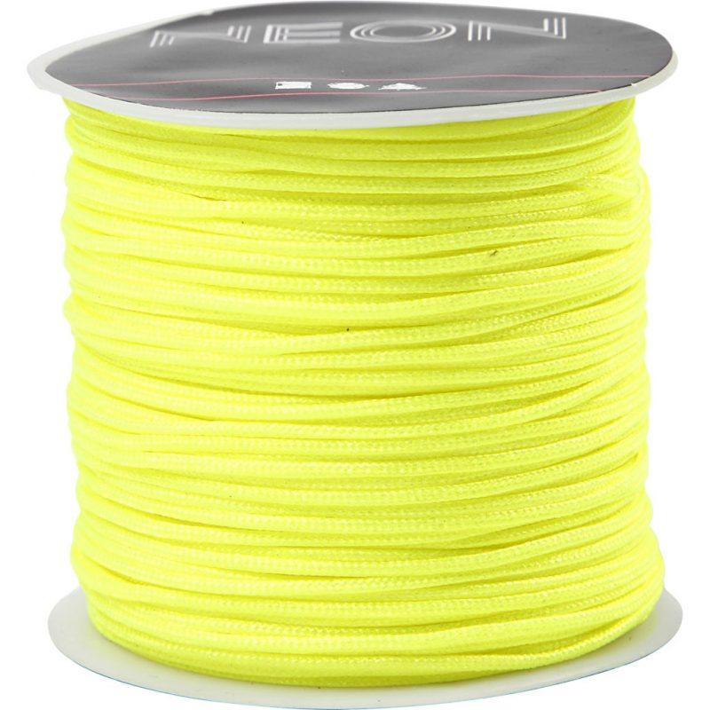 Neon geel draad