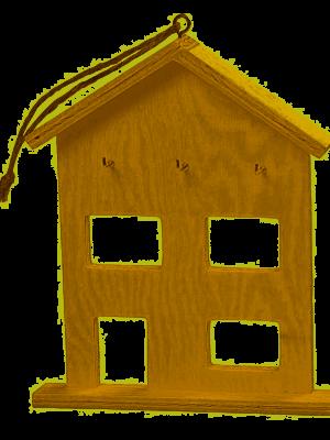Sleutel huis versieren