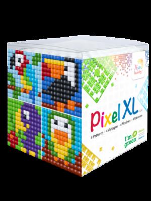 Pixel XL kubus vogels