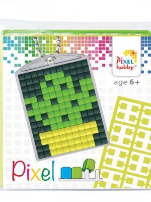 Pixelsleutelhanger Cactus