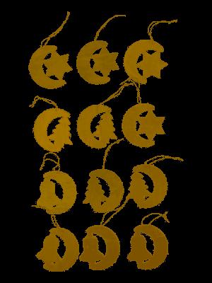 Kerstboom Hangers 12 atks