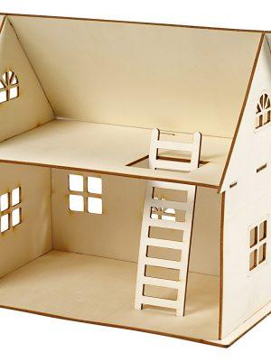 Houten DIY huis