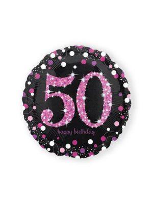 Folieballon 50 - pink