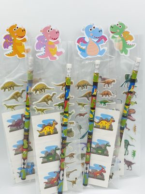 Dino sticker tattoo traktatie