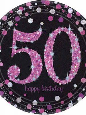 Bordjes 50 - pink