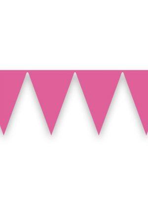 Vlaggenlijn Roze 10 mtr