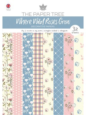 Wild Roses Papier A4