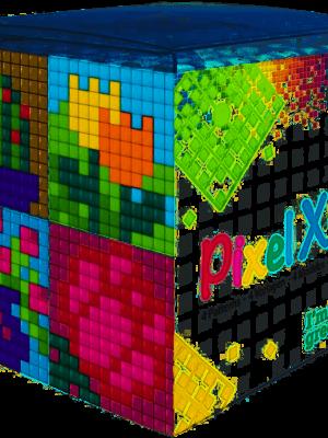 Pixel XL kubus Bloemen