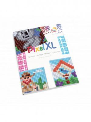 Pixel XL patronenboekje vierkant