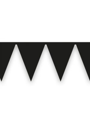 Vlaggenlijn Zwart 10 mtr