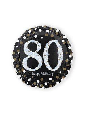 Folieballon 80 - Goud