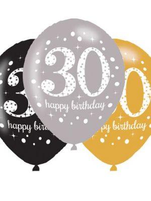 Ballonnen 30 - Goud