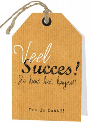 Wenskaart Succes