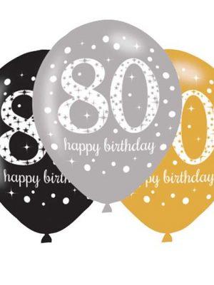 Ballonnen 80 - Goud
