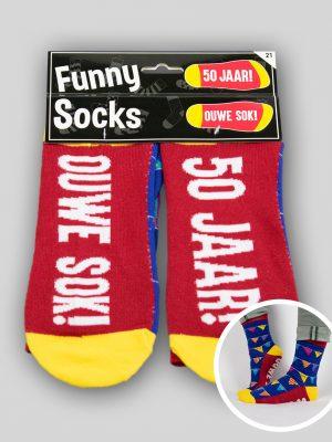 Funny Socks 50 jaar