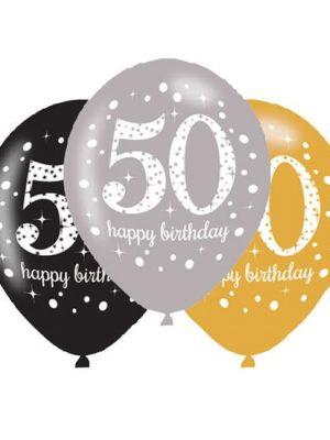 Ballonnen 50 - Goud