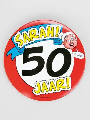 Button XL Sarah