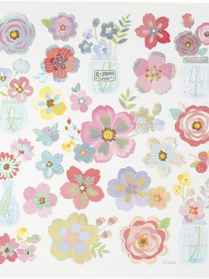 Stickers Voorjaarsbloemen