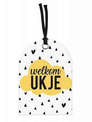 Wenskaart Welkom Ukje