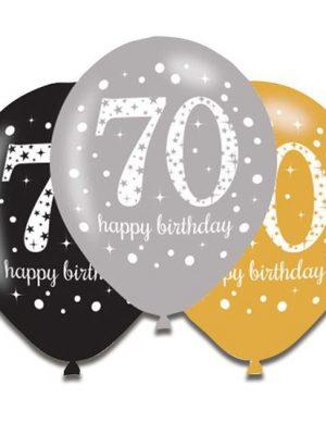 Ballonnen 70 - goud