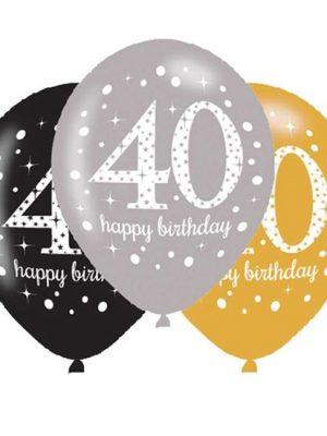 Ballonnen 40 - Goud