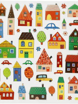 Stickers Huisjes