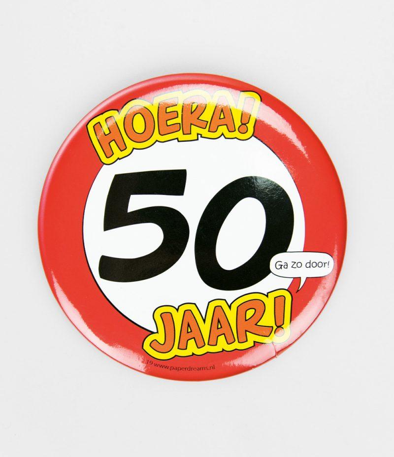 Button XL 50 jaar