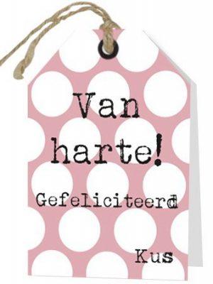 Wenskaart Van Harte