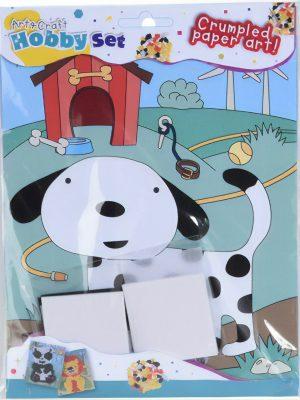Propjeskunst 23,5 x 17,5 cm hond