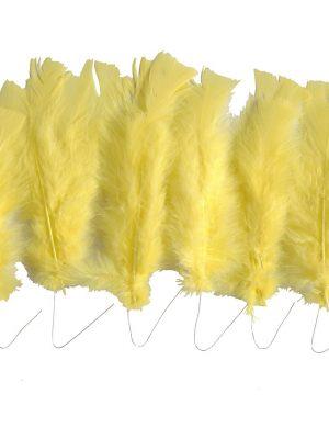 Veren, l: 11-17 cm, geel