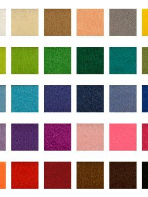 Vilt multi kleuren