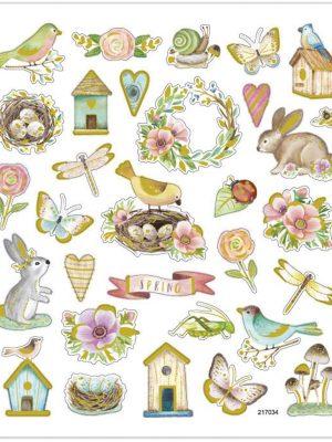 Stickers, Voorjaar