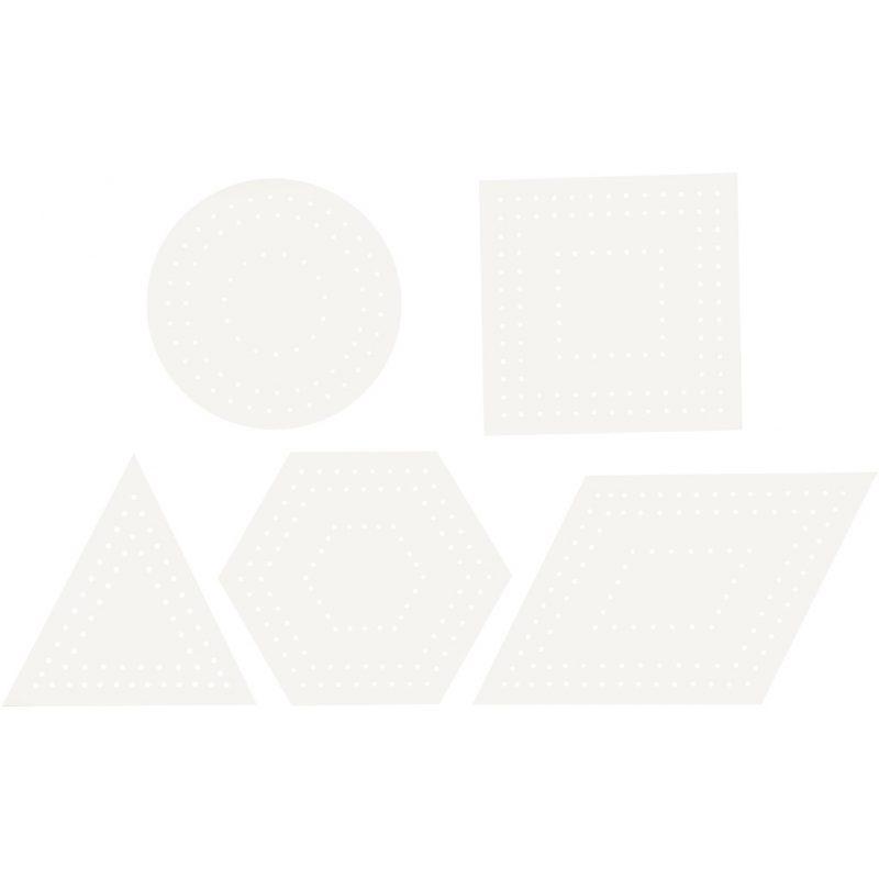 Kruissteken karton, geometrisch 20 stks