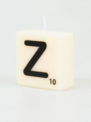 Letter Kaarsje - Z