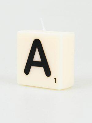 Letter Kaarsje - A