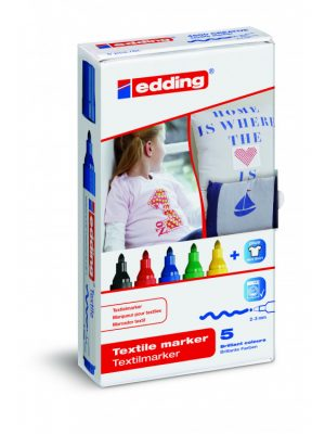 Textiel Markers Edding Basic