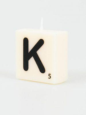 Letter Kaarsje - K