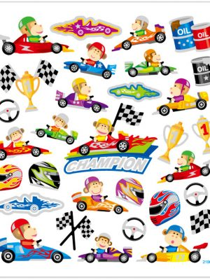 Stickers Formule1
