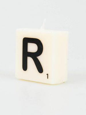 Letter Kaarsje - R