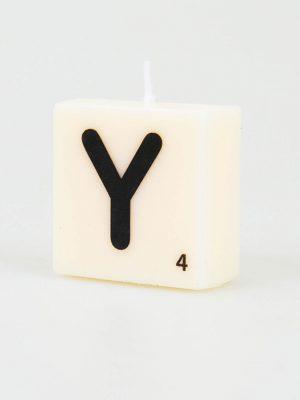 Letter Kaarsje - Y
