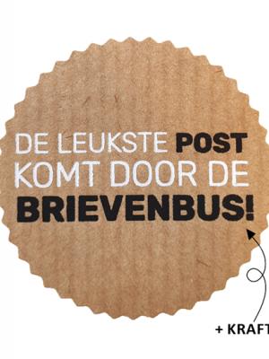Wensetiket Post brievenbus 5 stks