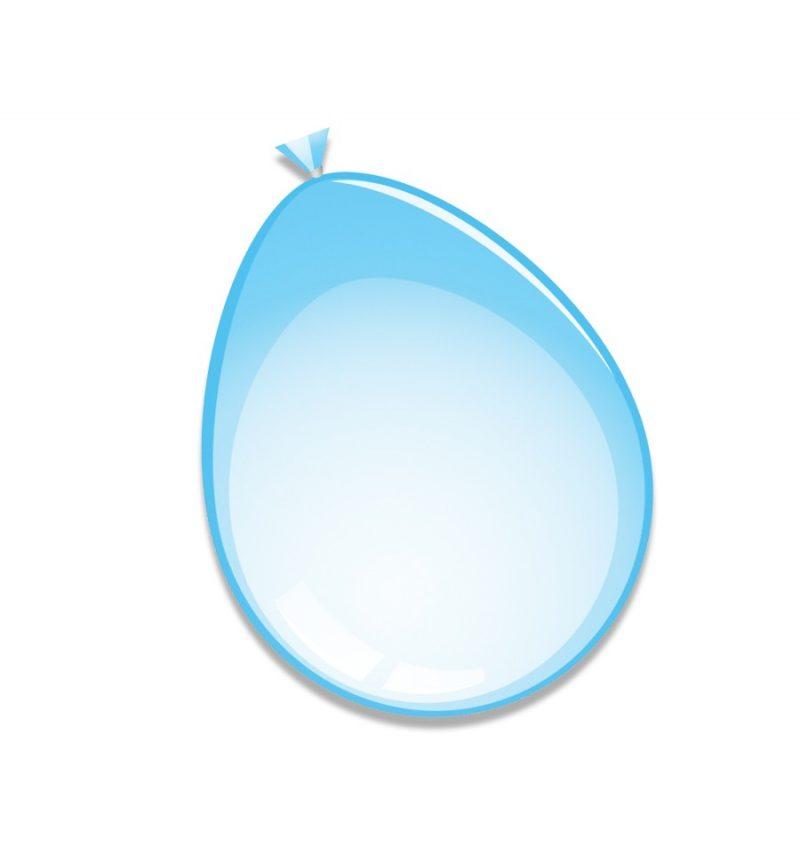 Babyblauw ballonnen 10 stks
