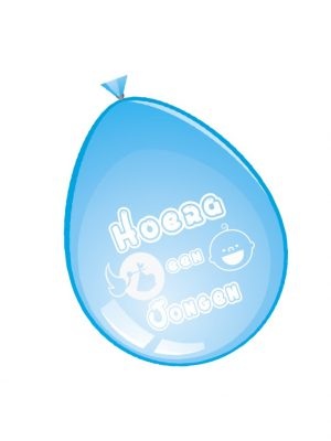 Ballonnen jongen 8 stks