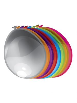 Ballonnen parel assorti 10 stks