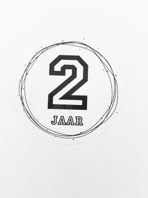 Leeftijd stickers 2 jaar