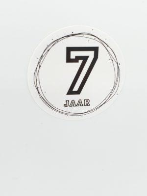 Leeftijd stickers 7 jaar